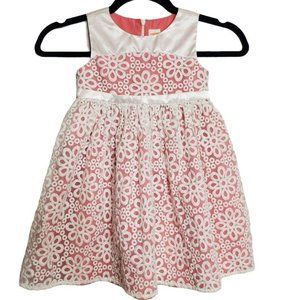 Gymboree 4T Embroidered Lace Fit & Flare Dress